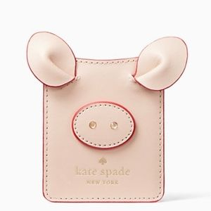 NWT kate spade Year of the Pig Sticker Pocket